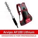 Diradatore Elettrico Arvipo AF100 con batteria a zaino
